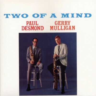 Paul Desmond & Gerry Mulligan : Two of a Mind CD (2011) ***NEW***