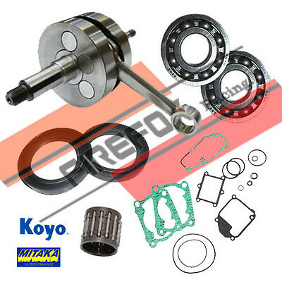 Honda NSR125 Bottom End Rebuild Kit Inc. Crank & Gaskets