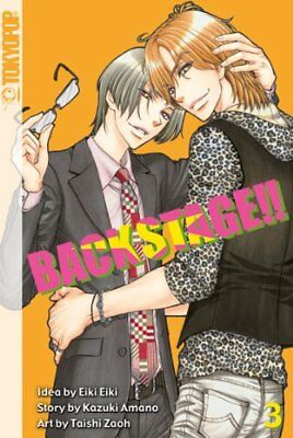 Back Stage!! Manga Light Novel Band 3 (Tokyopop) Boys Love NEU!