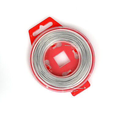 MDR Motocross Race Grip locking Safety Wire (Silver) Universal 0.8mm x 30m Roll