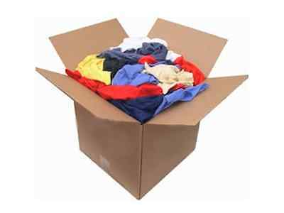 Color Fleece Rags 50 LBS Box