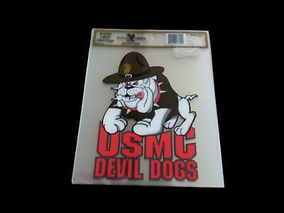 Marine Corps Devil Dogs Window Decal Bumper Sticker U.s Military Official Decal