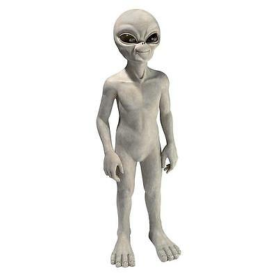 Large: UFO Extra-Terrestrial Roswell Area 51 Outer Space Alien Sculpture