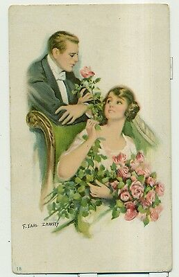1908 F. Earl Christy 'Dorney Furniture Co.' Advertising Card - Allentown,PA