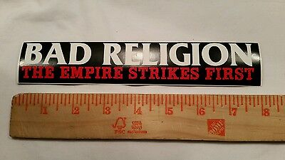 Bad Religion The Empire Strikes First sticker