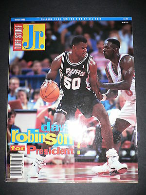 Tuff Stuff Trading Card Fun For Kids Of All Ages Jr David Robinson Mar 1992