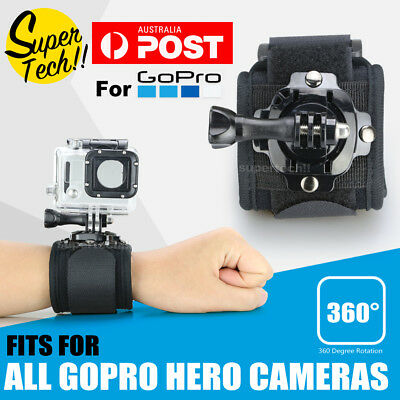 360° Rotation Wrist Strap Band Holder Mount for GoPro Hero 6 5 4 3+ 3 2  Session