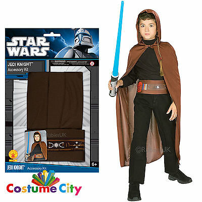 Star Wars Jedi Fancy Dress Official Childs Blister Set Halloween Costume