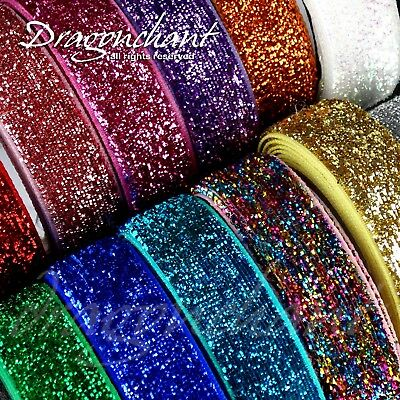 Textured Velvet Glitter Fabric Washi Tape Craft Self Adhesive Sticky Ribbon Trim