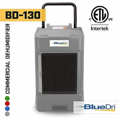 BlueDri® BD-130P 225PPD High Performance Industrial Commercial Dehumidifier Grey