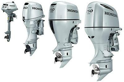 Honda Outboard Engine Bf75A Bf90A Bf115A Bf130A Series Workshop Service Manual