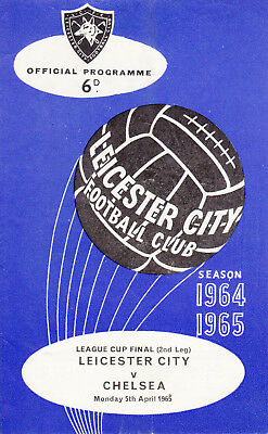1965 League Cup Final - Leicester v Chelsea