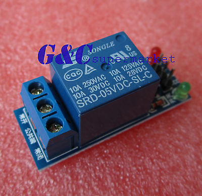 1-Channel 5V Relay Module Indicator Light LED for Arduino PIC ARM DSP AVR