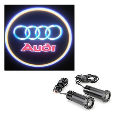 Audi A3 - 2 x 5w Cree LED Car Door Logo Welcome Projector Lights Universal 12v