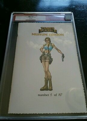 Tomb Raider Preview RARE CGC graded museum edition