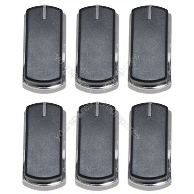 6 x Belling 444449563 and 444449567 Cooker Oven Hob Stove Grill Control Knob