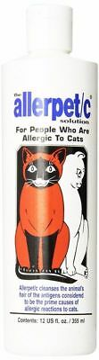 Allerpet C Pet Solution 4 Cat Rabbit Small Animal & People Allergic to Them 12oz