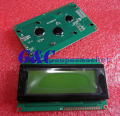 New 2004 20X4 Character LCD Display Module Yellow Blacklight GOOD QUALITY