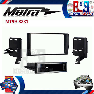Toyota Camry 2002 To 2006 Double Din Factory Color Facia Dash Kit Fascia Tim