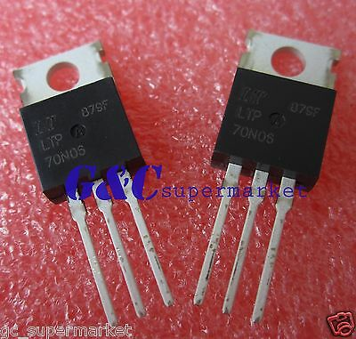 50Pcs Ltp70N06 Rfp70N06 Rfp70N06 Ic Liteon Mosfet N-Ch 60V 70A To-220 New T52