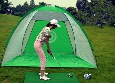 Golf Net Practice  Exercises Driving Chipping Soccer Cricket  + balls