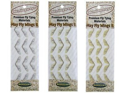 Hemingway's Mayfly Wings II   /size M & L & XL / fly tying materials