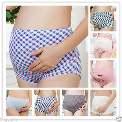 Pregnant Women Panties 100%Cotton Maternity Lingerie Pregnancy Underwear Briefs