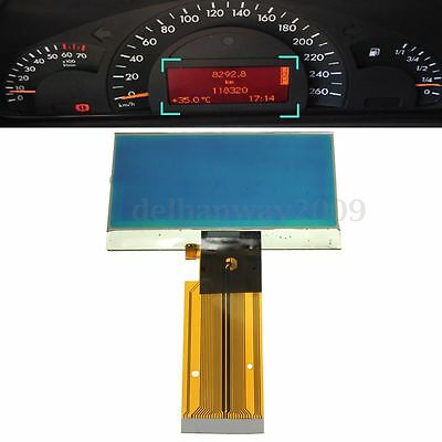LCD DISPLAY SCREEN SPEEDOMETER CLUSTER For MERCEDES W203 C-CLASS VDO INSTRUMENT