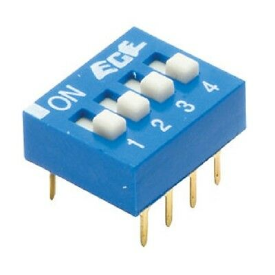 Switch DIL Excel 4 Way 8 Pin Selector (Pack of 2)