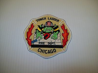 Chicago Fire Department TL 39 Patch