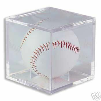 Ultra Pro Baseball Holder UV Protected MLB Cradle Display Case Signed Autograph