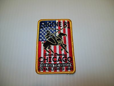 Chicago Fire Department Engine 81 Patch