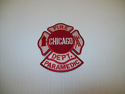 Chicago Fire Department Maltese w/ Paramedic