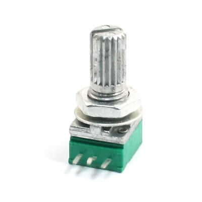 A50K 50K ohm 3 Terminals Top Adjustment Variable Potentiometer Green