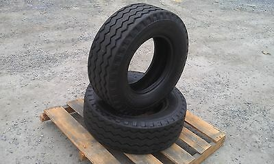 2 NEW Backhoe Tires 11L-16 - F3 12 ply rating -11LX16 Backhoe/Implement tires