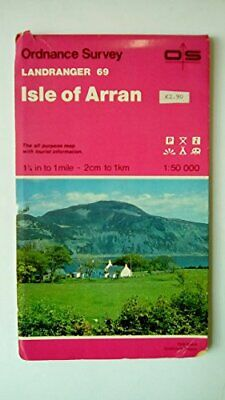 Landranger Maps: Isle of Arran Sheet 69 ... by Ordnance Survey Sheet map, folded
