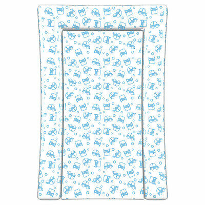 Linens Limited Cars Changing Mat, Blue