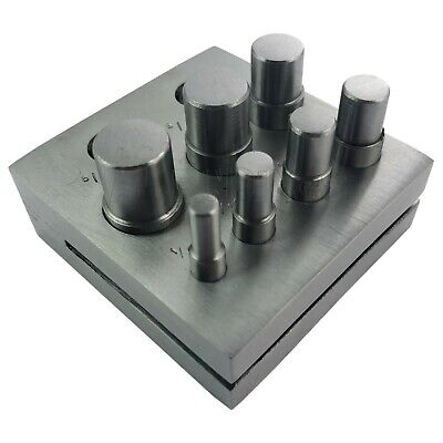 SET OF 7 CIRCULAR DISC CUTTER CUTTING TOOL  6mm - 16mm TOOL Imperial and Metric