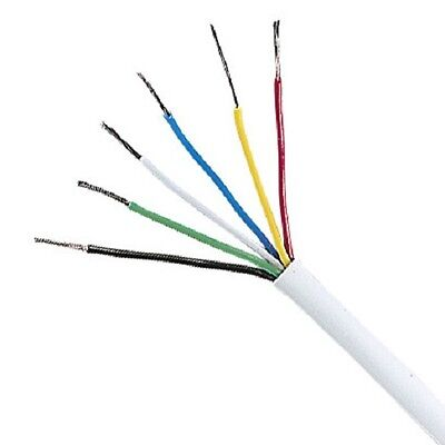 Unistrand Multicore Signal Cable 6 Core Wire Wiring (Per 3 Metres)