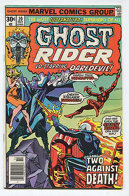 Ghost Rider #20 (5.0) Daredevil Appearance 1976