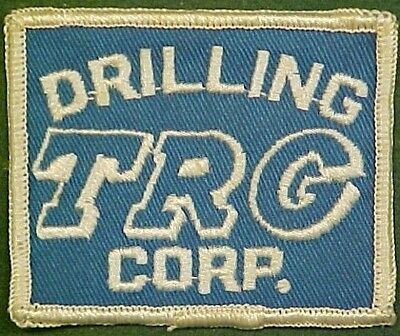 TRG Drilling Corp. on Blue Twill Patch