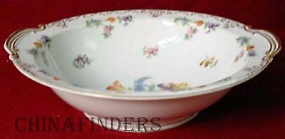"NORITAKE china DRESDOLL pattern Round Vegetable Serving Bowl 10-3/8"" x 10"""