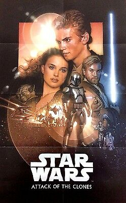 Star Wars™ ATTACK OF THE CLONES Movie Poster DREW STRUZAN Cereal Exclusive