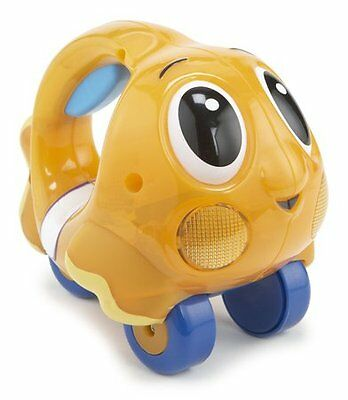 Little Tikes Ocean Explorer Push and Glow Fish Orange Push Along Baby Toy New