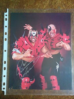 Leaf Wrestling WWE WWF Hall of Fame Road Warriors Legion Doom Animal Autograph
