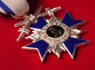 German Wwi Medal Bavaria Military Merit Order Cross 4Th Class With Swords
