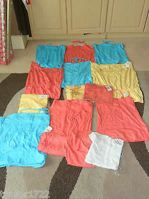 Joblot Wholesale Clearance Ladies Clothes Tops Summer 15 T-Shirts New Size 8-18