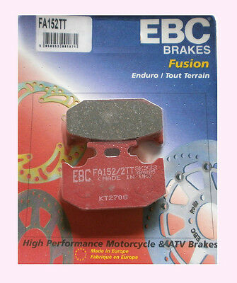 FA152 style Suzuki DR250 rear brake pads 1990-2000 fits other models