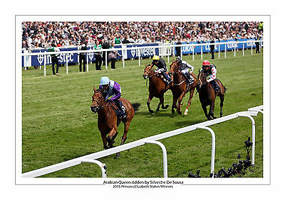 Arabian Queen Silvestre De Sousa 2015 Horse Racing A4 Print Photo Epsom