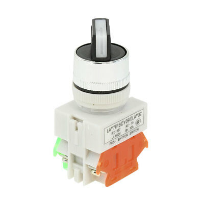 Electric No/Off 2 Position Rotary Selector Push Button Switch Ith 10A Ui 660V